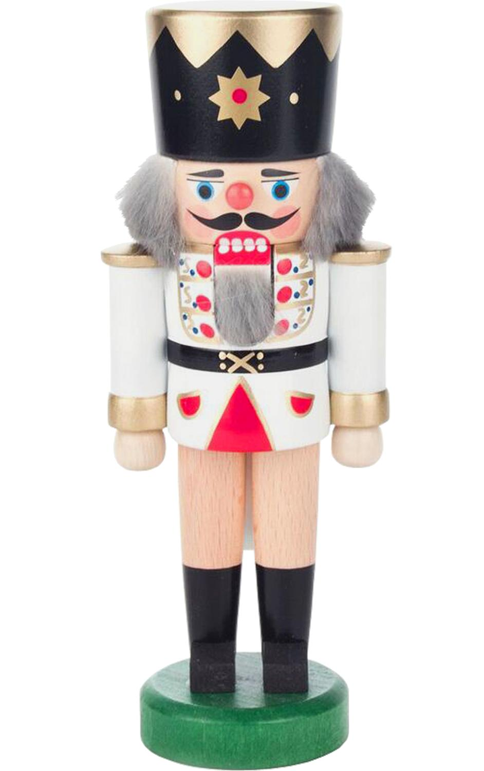 019-012W - Dregeno Nutcracker - White King - 7