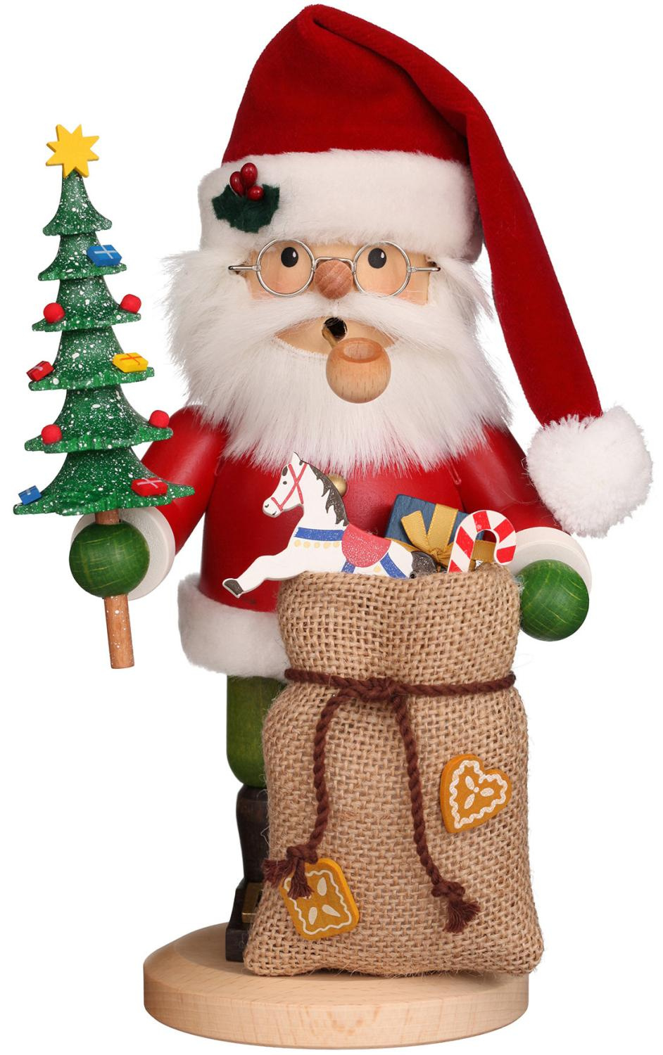 1-196 - Christian Ulbricht Incense Burner - Santa - 10