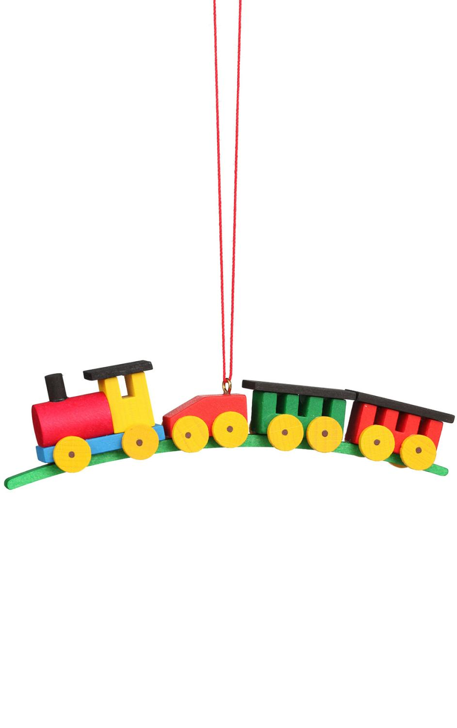 10-0037 - Christian Ulbricht Ornament - Train Large Size - 1