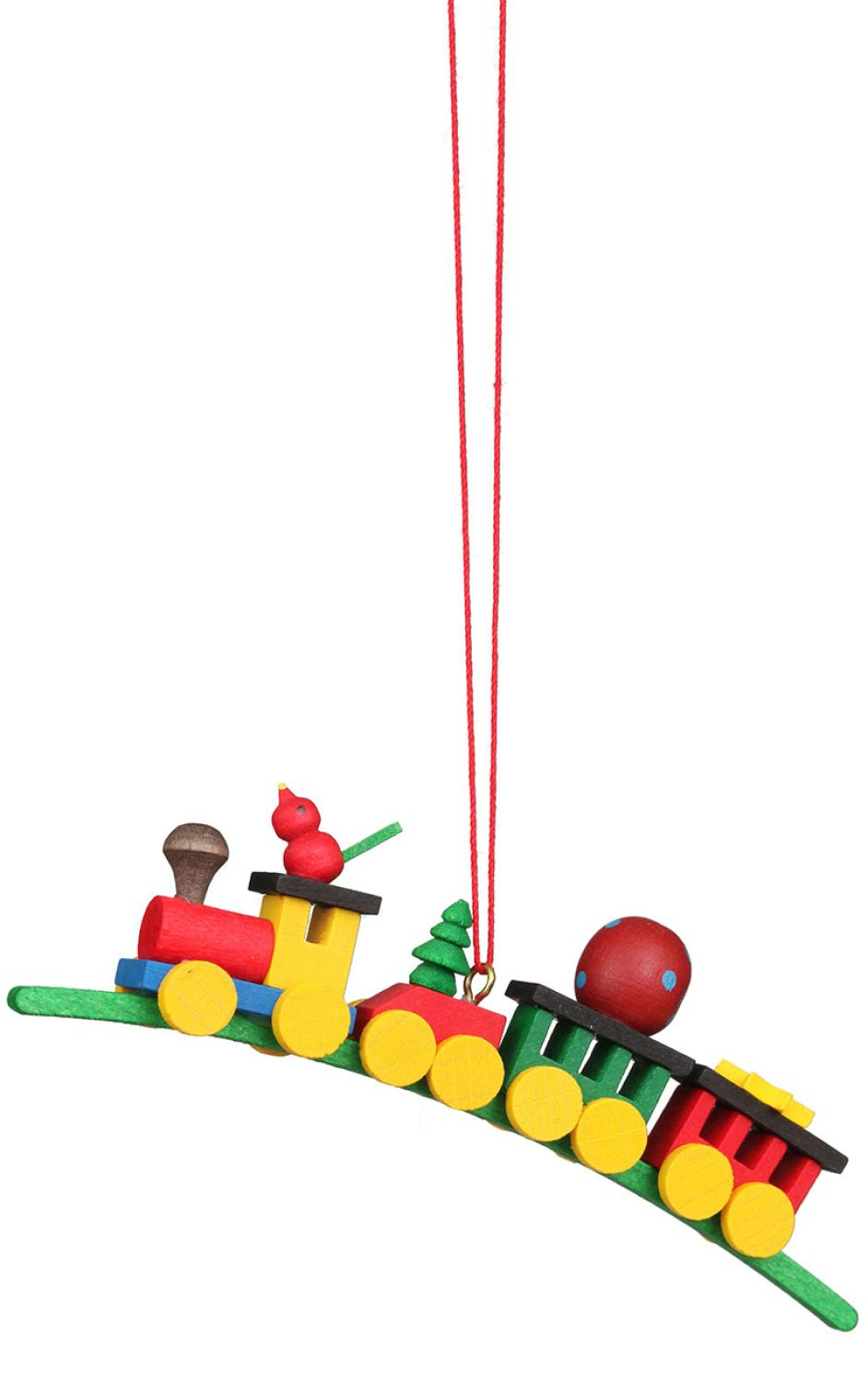 10-0137 - Christian Ulbricht Ornament - Train on Arch - 1.5