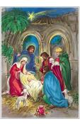10075 - Korsch Advent - Nativity Scene - 11.5