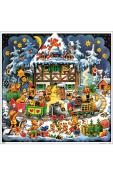 10425 - Korsch Advent - Teddy Village - 10.75