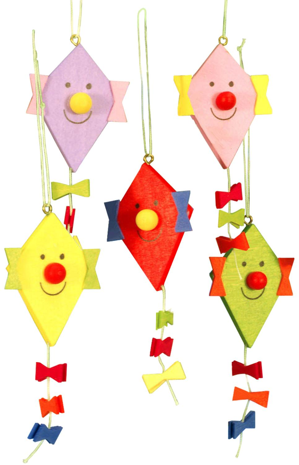 Christian Ulbricht Ornament - Kite with Face