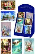 11224 - Korsch - Box of 60 assorted Advent cards - 14.5