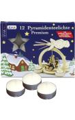 German Tea Lights (Pack of 12) FOIL HOLDER