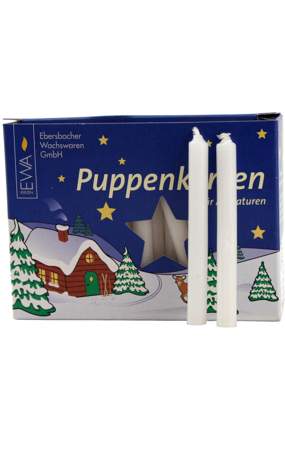 40100W - German Candle for Pyramids - White - 2.75