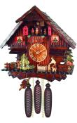 Engstler Weight-driven Cuckoo Clock - Full Size - 8-day