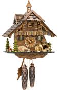 Engstler Weight-driven Cuckoo Clock with 8-Day weight driven movement - Full Size -