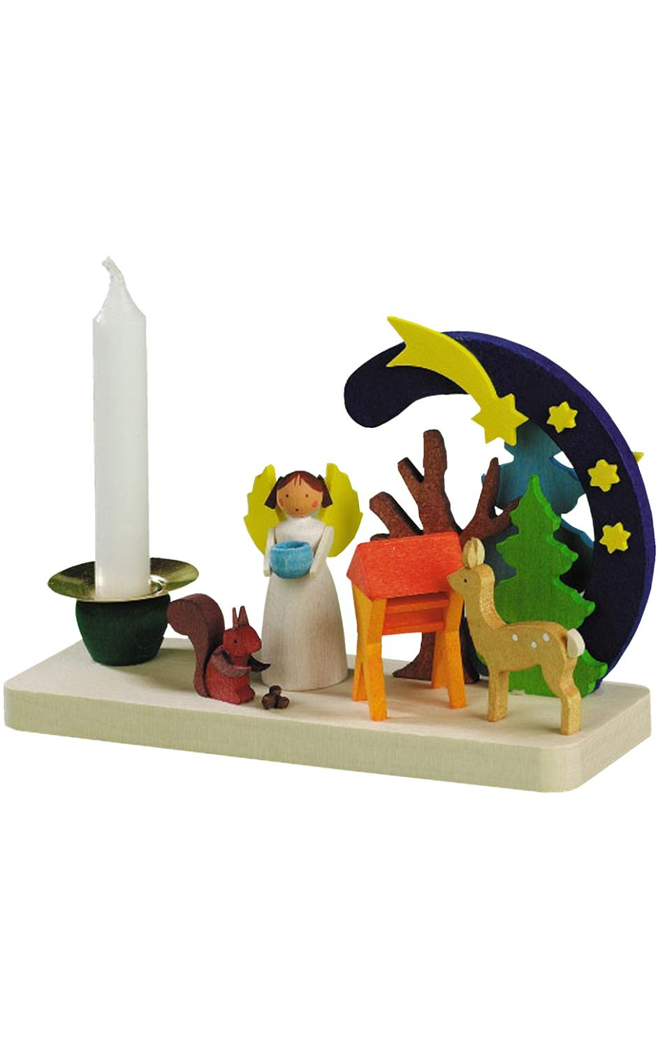 703 - Graupner Ornament - Angel Candleholder - 3