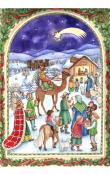 Sellmer Advent - Card Nativity