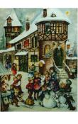 Sellmer Advent - Children with Snowman