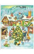 Sellmer Advent - Farm Scene at Christmas