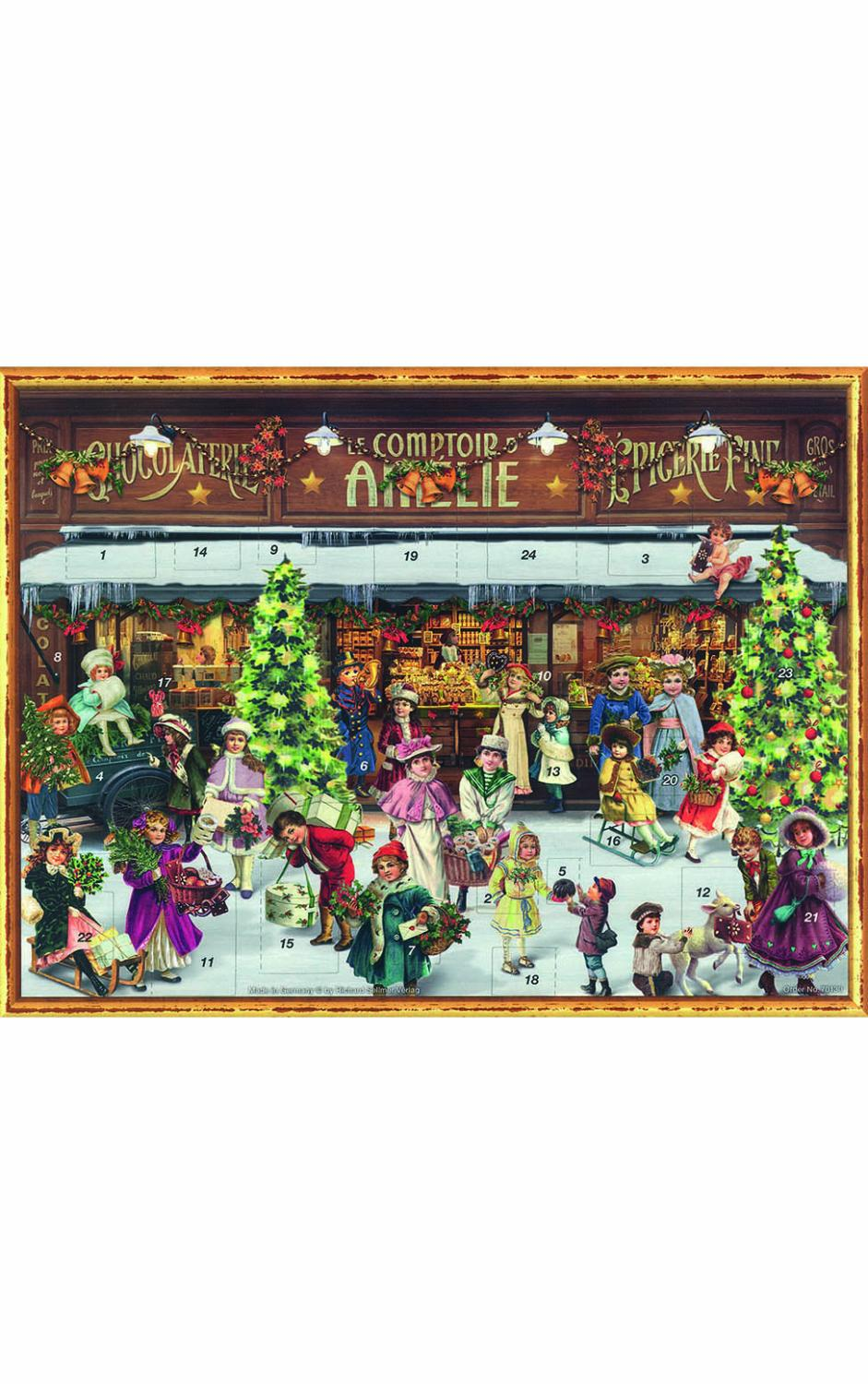 ADV70130 - Sellmer Advent - Victorian Shop Window - 10.5