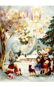 Sellmer Advent - Children with Angels