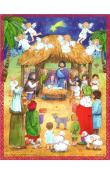 Sellmer Advent - Large Nativity with Children