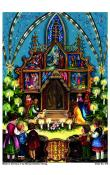 Sellmer Advent - Children at Chapel's Nativity (With Envelope)
