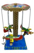 MM089 - Collectible Tin Toy - Airplane Carousel - 4