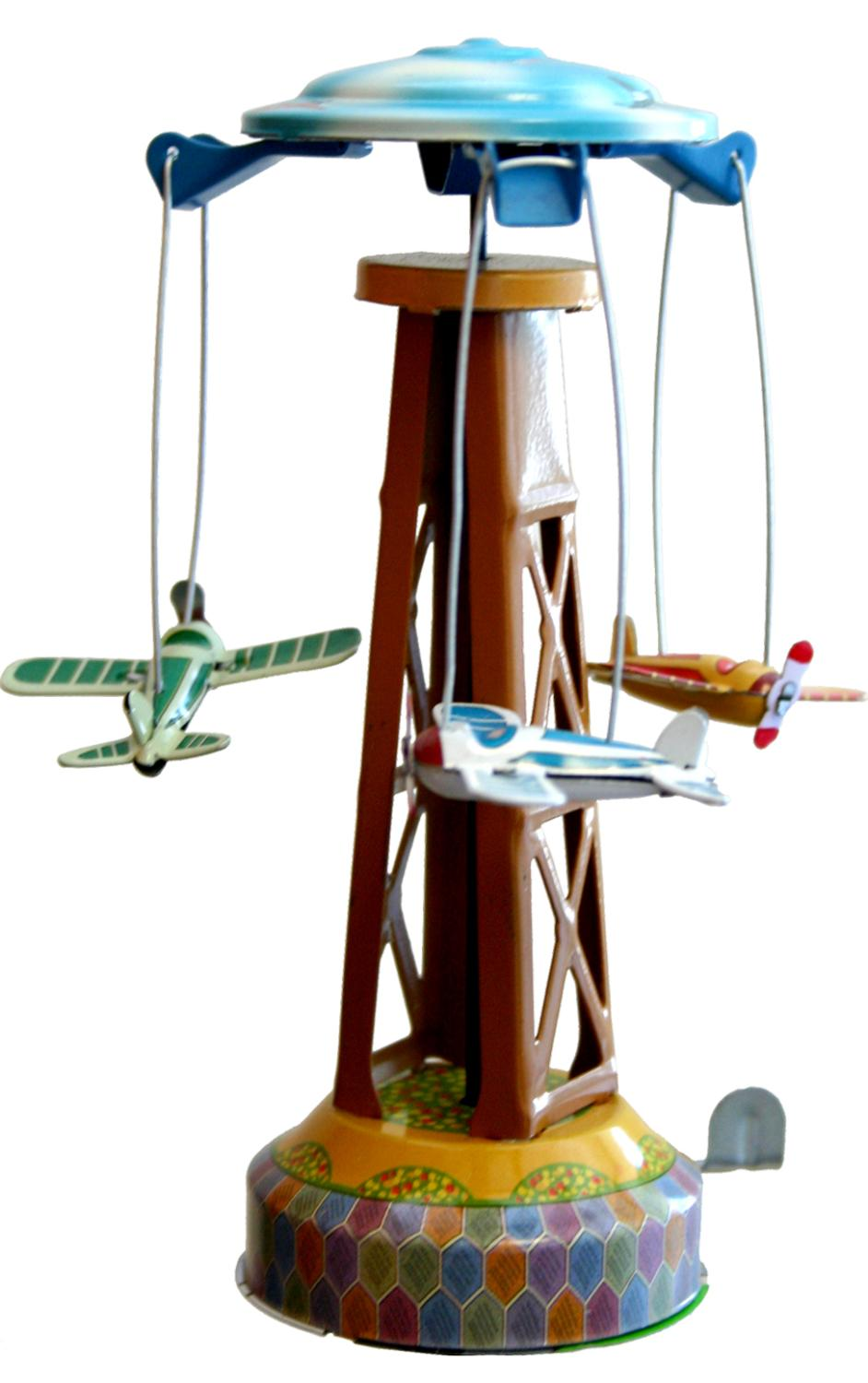 MM262 - Collectible Tin Toy - Merry-Go-Round - 5.5