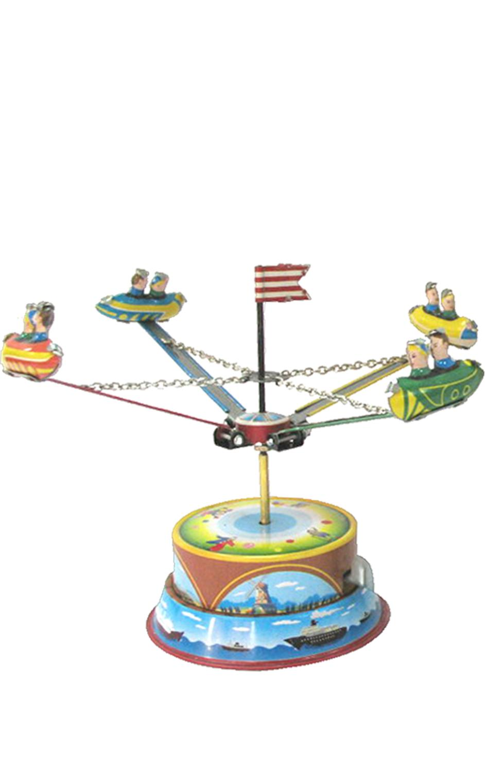 MM266 - Collectible Tin Toy - Carousel - 4.75