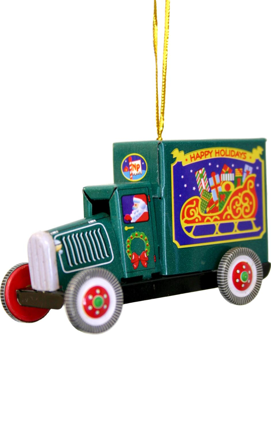 MM281 - Collectible Tin Ornament - Truck - 2
