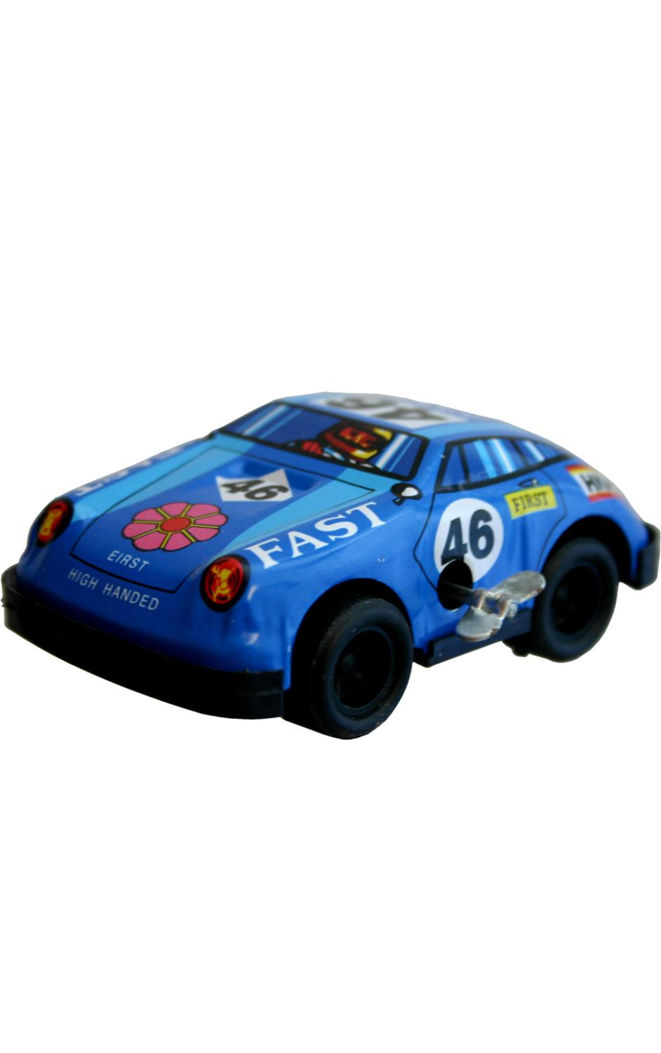 MS046 - Collectible Tin Toy - Racer - 1.5