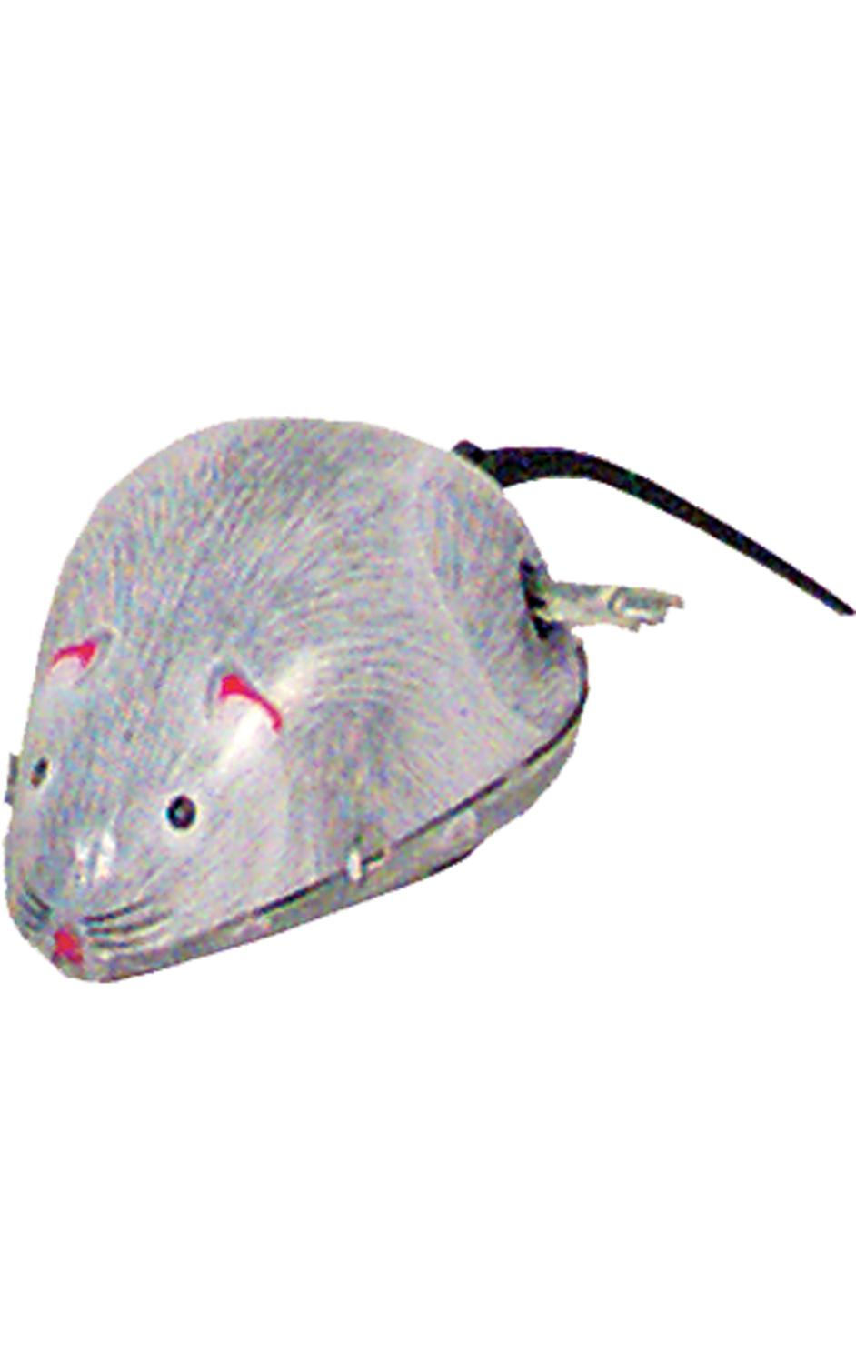 MS077 - Collectible Tin Toy - Mouse with Moving Tail - 2