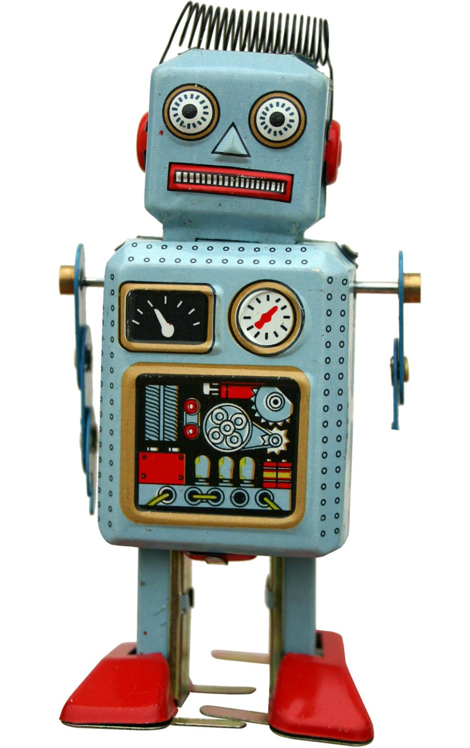 MS294 - Collectible Tin Toy - Robot - 5