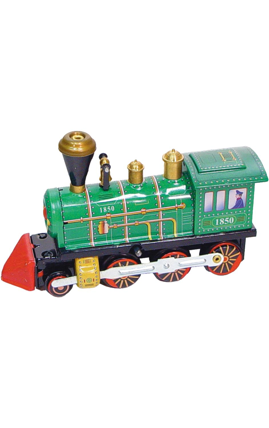 MS432 - Collectible Tin Toy - Locomotive - 3