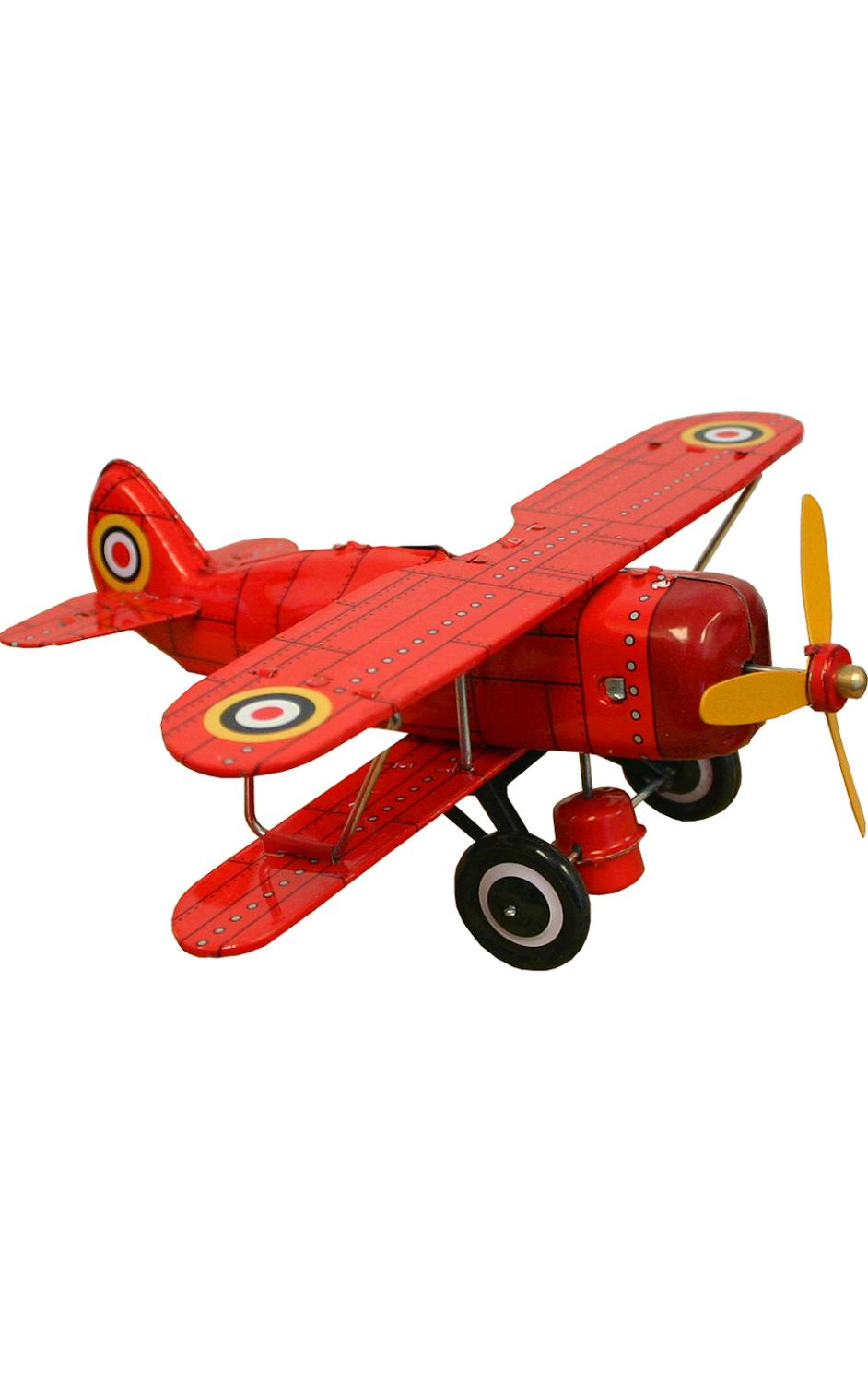 MS454R - Collectible Tin Toy - Red