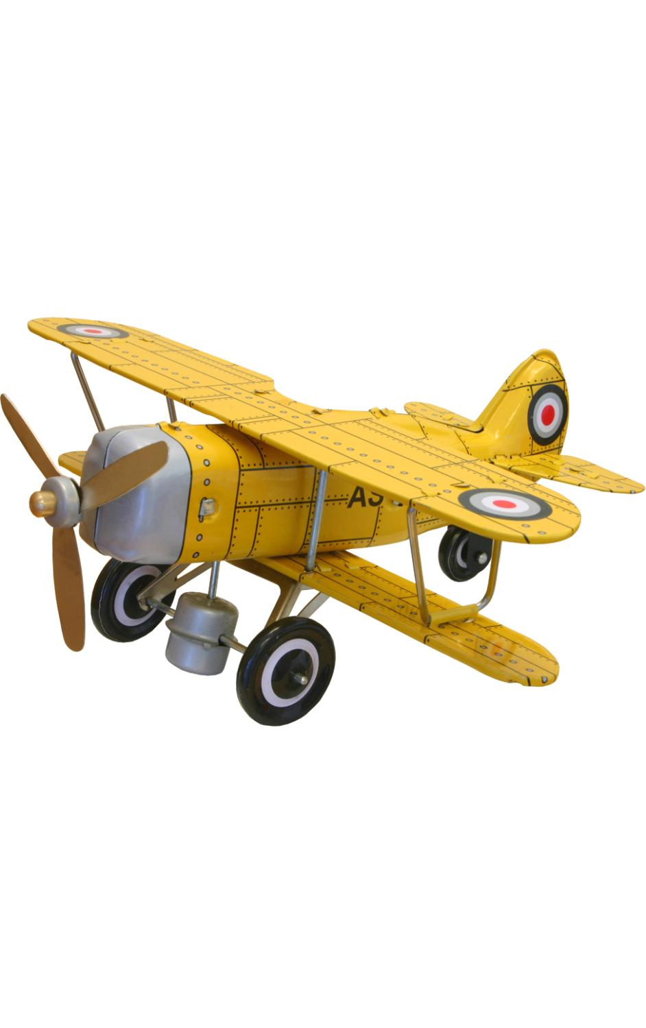 MS454Y - Collectible Tin Toy - Yellow